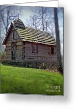 Tom's Country Church And School Greeting Card