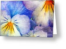 Tones Of Blue Greeting Card by Darren Fisher
