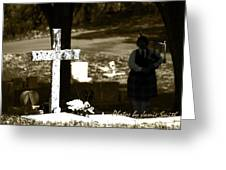 Tones Of The Dead Greeting Card