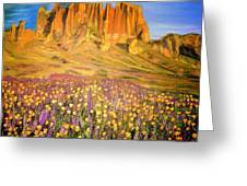 Tonto National Forest Greeting Card