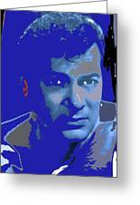 Tony Curtis Circa 1960 Color Added 2012 Greeting Card