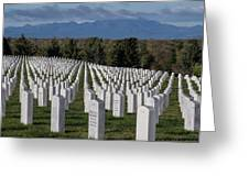 Too Many.. Veteran Cemetery, Santa Fe Greeting Card