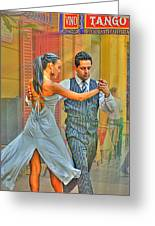 Too Tango Greeting Card