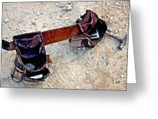 Tool Belt Greeting Card