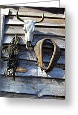 Tool Shed Greeting Card