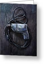 Tools On Wood 28 Greeting Card