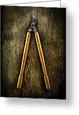 Tools On Wood 34 Greeting Card