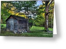 Toolshed Greeting Card