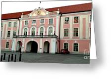 Toompea Castle  Greeting Card