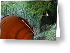 Tooth Rock Tunnel Greeting Card