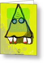 Tooth_monster_1d Greeting Card