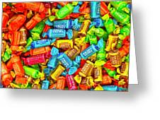 Tootsie Fruit Chews Greeting Card