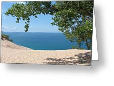 Top Of The Dune At Sleeping Bear Greeting Card