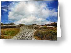 Top Of The Dunes Greeting Card