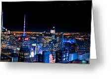 Top Of The Rock 1 Greeting Card