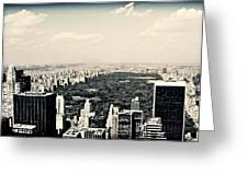 Top Of The Rock Greeting Card by Ariane Moshayedi