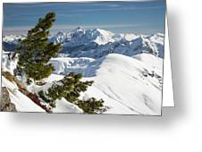 Top Of The Top - Lombardy / Italy Greeting Card
