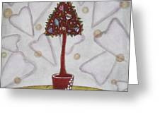 Topiary 2 Greeting Card