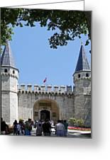 Topkapi Palace Museum 1524 Greeting Card
