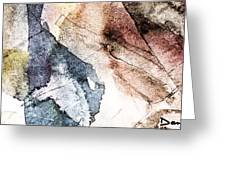 Topographical 2 Greeting Card