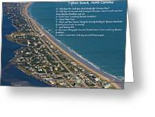 Topsail Beach Greeting Card
