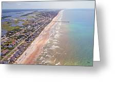 Topsail Buzz Surf City Greeting Card