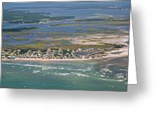 Topsail Island Migratory Model Greeting Card