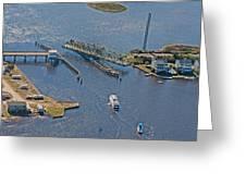 Topsail Swing Bridge Greeting Card