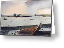 Topsham Wreck Greeting Card
