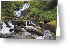 Torc Waterfall In Killarney National Greeting Card
