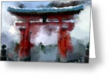 Torii Greeting Card