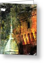 Torino Greeting Card by Andrea Barbieri