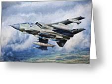 Tornado Gr4 - 2 Greeting Card