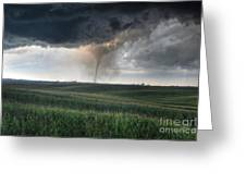 Tornado Greeting Card