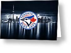 Toronto Blue Jays City Greeting Card
