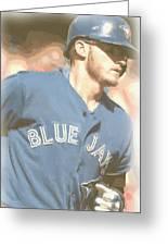 Toronto Blue Jays Josh Donaldson 4 Greeting Card