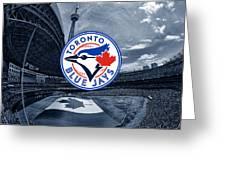Toronto Blue Jays Mlb Baseball Greeting Card