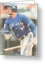 Toronto Blue Jays Troy Tulowitzki Greeting Card