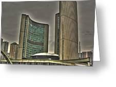 Toronto City Hall2 Greeting Card