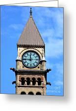 Toronto Clock Tower Greeting Card