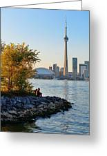 Toronto Cn Tower Greeting Card