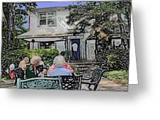 Toronto Island Restaurant Greeting Card