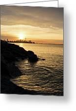 Toronto Lakeshore Vortex - Greeting Card