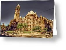 Toronto Old City Hall  Greeting Card
