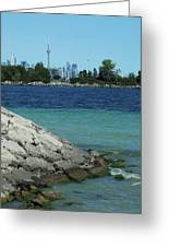 Toronto Shoreline Greeting Card