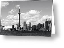 Toronto Skyline 11 Greeting Card