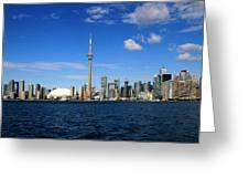 Toronto Skyline 26 Greeting Card