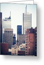 Toronto - Skyline Greeting Card