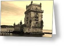 Torre De Belem Greeting Card
