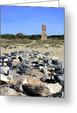Torre De Los Ladrones At Cabopino Greeting Card